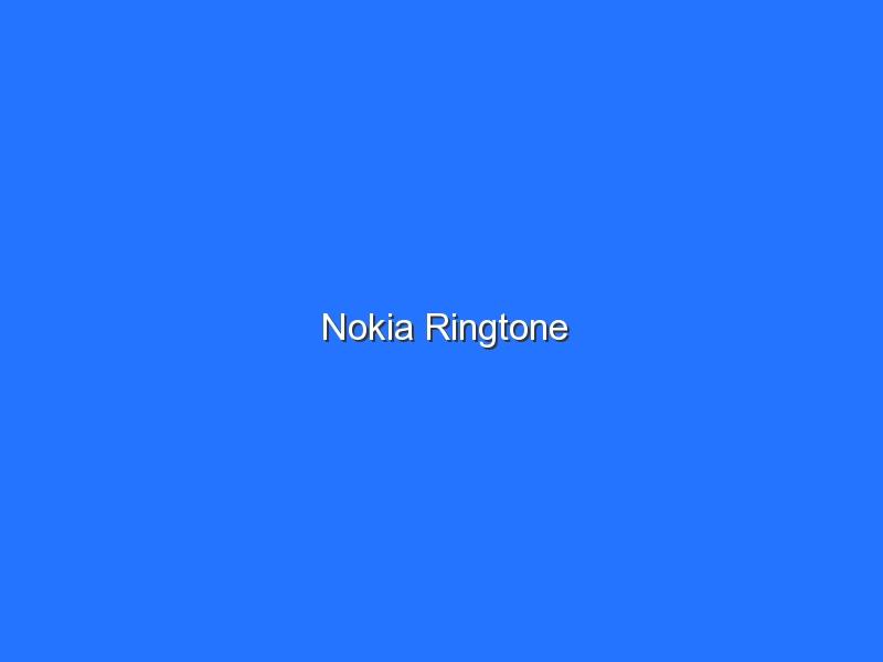 Nokia Ringtone