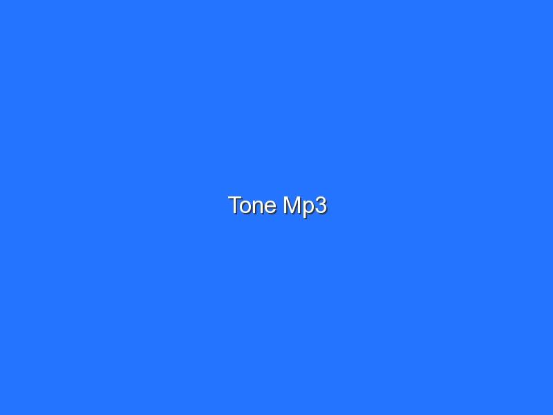 Tone Mp3