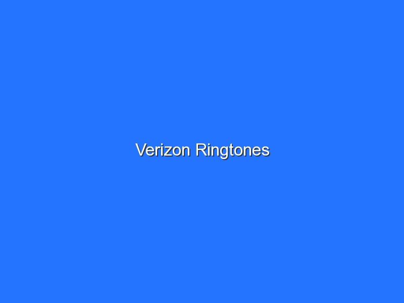 Verizon Ringtones